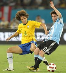 Argentinas och Brasiliens tröjor är poppis