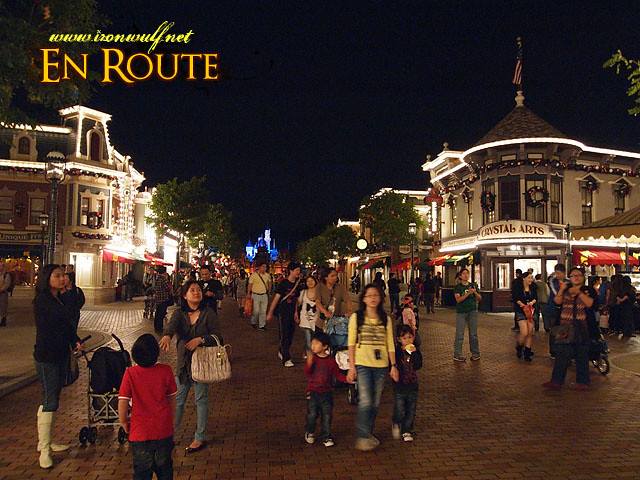 Night at Hong Kong Disneyland