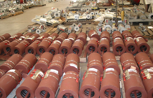 Furnace Spring Assemblies up to 13,000 lbs. for a Chemical Refinery