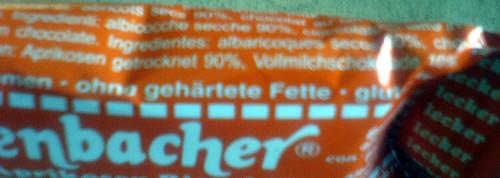 Seitenbacher Aprikosen-Riegel