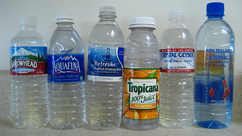 "My Own Collection of ""Bittled Water"""