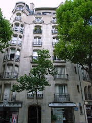 Apartments, Rue La Fontaine by stevecadman, on Flickr