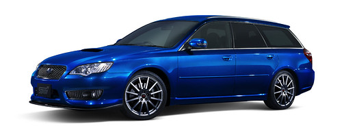 Subaru Legacy 2008 Tuned By STi 02