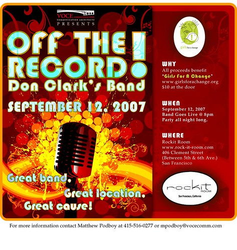 Off The Record - Sept 12, 2007