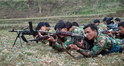 People's Liberation Army, Special Task Force of the Maoist army in Eastern Nepal, 2004 by Kashish Das Shrestha