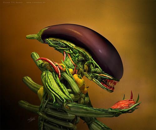 Alien vegatal