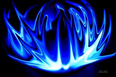 blue flame's peforming (tinykoko) Tags: blue light dark image creative flame 5for2 colorphotoaward ysplix theunforgettablepictures colourartaward artlegacy theperfectphotographer