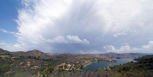 Storm over Dixon