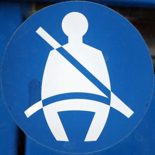 Wear seat belt by Leo Reynolds, on Flickr