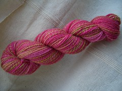 The Yarn Yard - Rhododendron - FO
