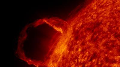 SDO first light - a solar flare