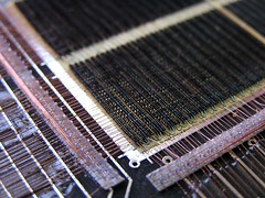 Core memory -- Closeup