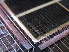 Core memory -- Closeup