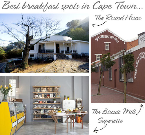 Cape Town Breakfast favourites