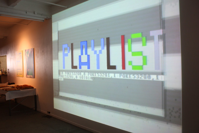 Playlist screen (iMAL.org)