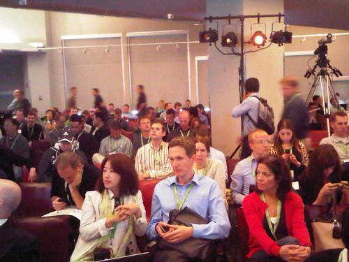 crowd at Matt Cutts QandA