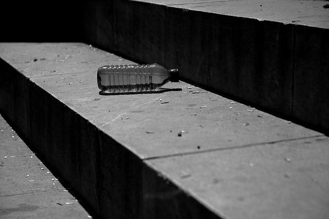 abandon cup / bottle