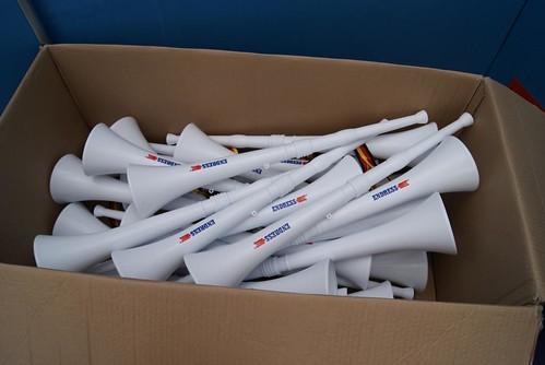 Vuvuzelas bei Endress