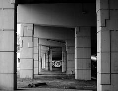 Gardiner Expressway ~ Toronto (Sally E J Hunter) Tags: toronto blackwhite noiretblanc gardiner gardinerexpressway moo1 55200mmf456 frederickggardinerexpressway conbw topwqq