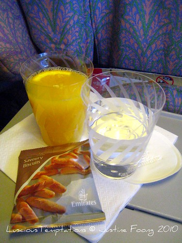 Dubai - KL Flight Refreshments