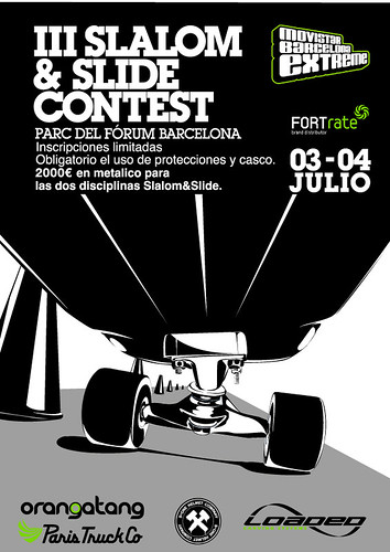 Cartel III Slalom&Slide Contest FORTrate
