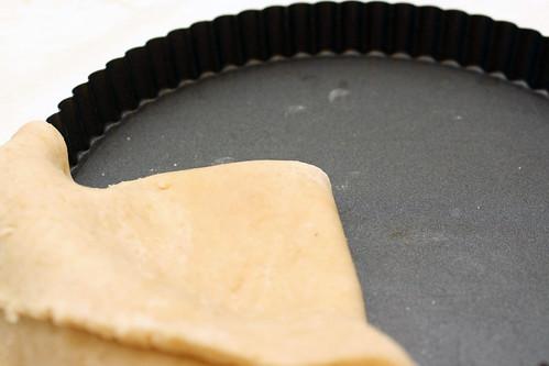 folding in the dough