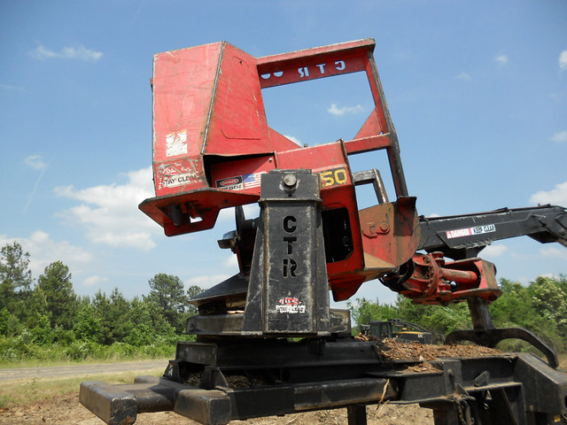Timberking 575DS Knuckleboom with CTR 450 for Sale by Forestry First