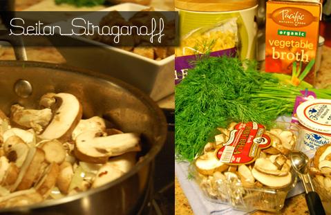Seitan Stroganoff Recipe