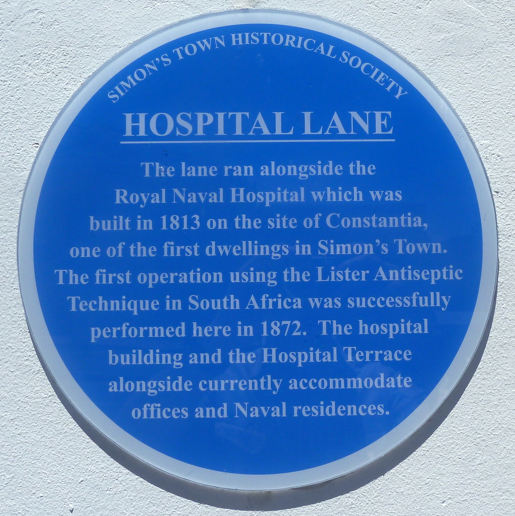 Photo of Royal Naval Hospital, Simon's Town blue plaque