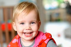 (ronny..) Tags: red portrait cute dof blueeyes irl nikond90 nikon50mm14g droptheshutter