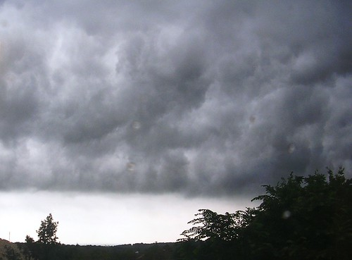 May storm rolling in