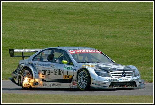 Bernd Schneider on fire !