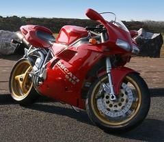 ducati 916 (hoohaaa) Tags: canon sigma motorbike ducati 18200 2007 newbrighton ducati916 400d canon400d eggrun