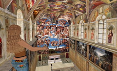 Sistine Chapel in Second Life 10
