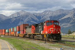 Trans Canada Train - Jasper - Canada ({ Planet Adventure }) Tags: holiday canada train wow photography photo interesting bravo jasper photographer ab adventure planet thebest allrightsreserved interessante digitalphotography holidayphotos stumbleupon copyright travelguide travelphotography digitalworld intrepidtraveler traveltheworld planetadventure colorfulworld worldexplorer amazingplanet by{planetadventure} byalessandrobehling intrepidtravel alessandrobehling transcanadatrain stumbleit topphotography holidayphotography alessandrobehling copyright20002008alessandroabehling colorfulearth photographyhunter photographyisgreatfun