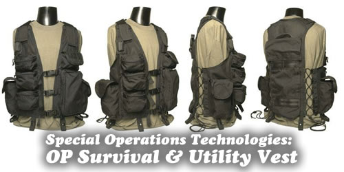 Special Operations: OP Utility Vest