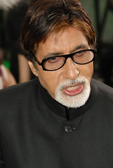 Indian idol Amitabh Bachchan