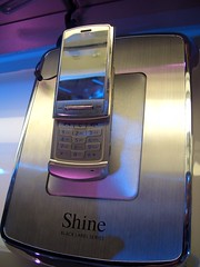 LG Corp Shine cell phone