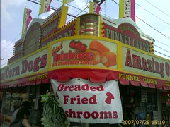 Deep fried twinkies at the fair