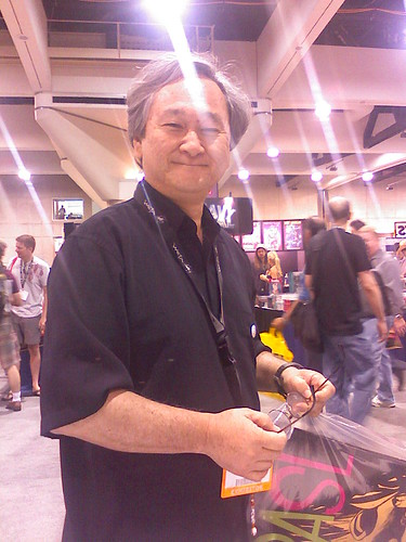 Stan Sakai, at the 2007 San Diego Comic-Con