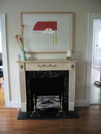 Bolotowsky above mantel