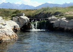 Another Hot Spring in the Eastern Sierras (Waves) Tags: hotspring skinnydipping easternsierras easternsierranevada