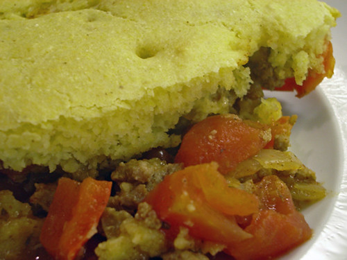 Urban Drivel: Turkey Tamale Pot Pie (Cooking Light)