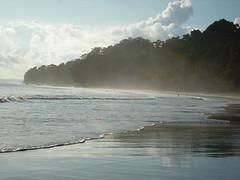 Andamans - Watery mist, Radha Nagar Beach (Backpack Wanderlust) Tags: ocean sea india mist beach island bay bayofbengal andamans radhanagarbeach andamannicobarislands havelockisland