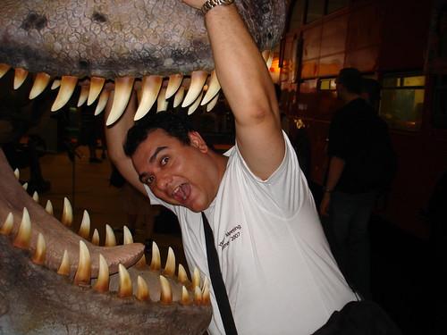 Tyranosaurus Rex will Baynado fressen