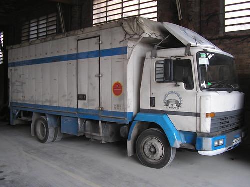 camió Nissan a Les Masies de Voltregà