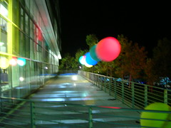 Bobbing Baloons at Google Dance