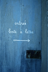 Entre libre (t.t@o) Tags: life door blue france colors mt outdoor entrance bleu porte welcome bienvenue couleur entre 2007 commonpeople morigny champigny riendeneuf