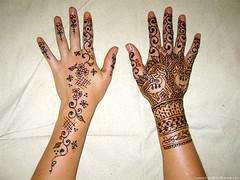 April's henna for Nicci's wedding