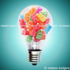 . (retales botijero) Tags: bear light colors canon oso yummy ositos retales 450d botijero